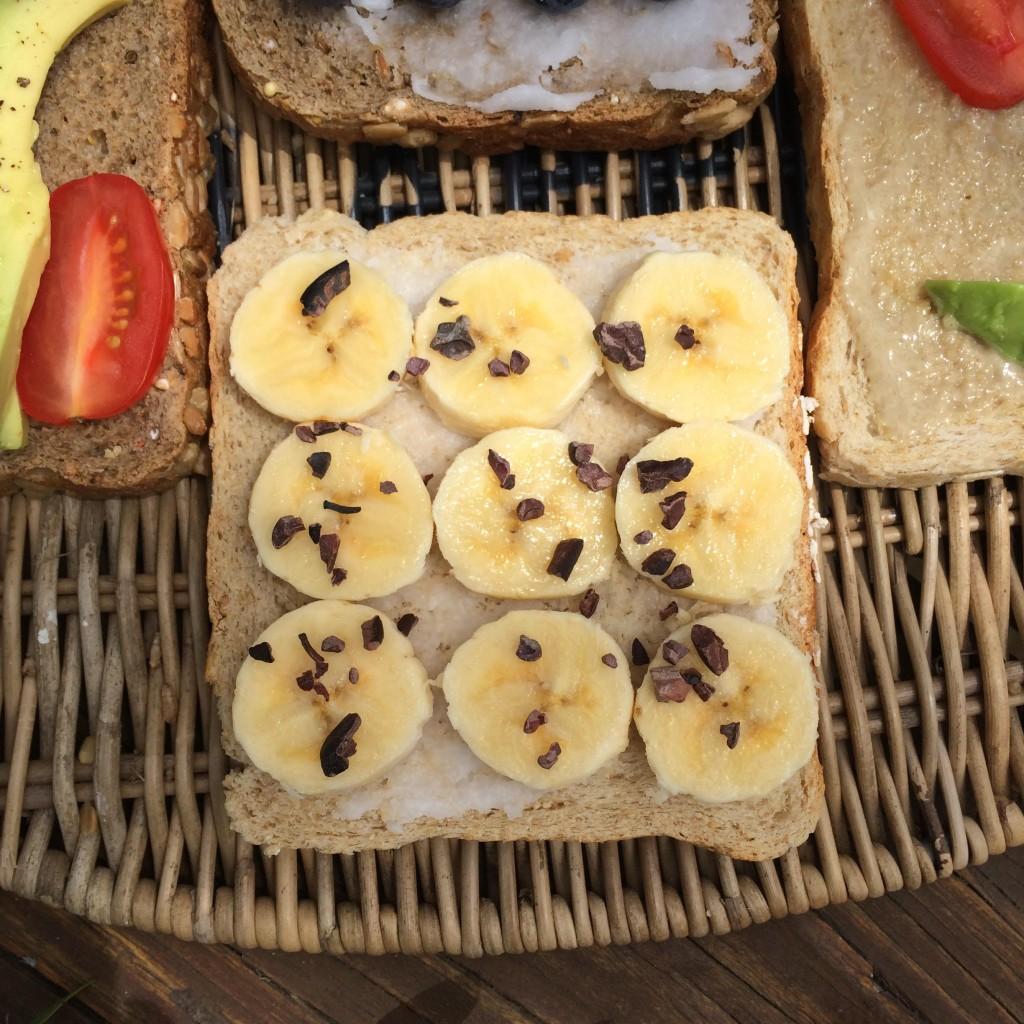 Zali macro banana bread