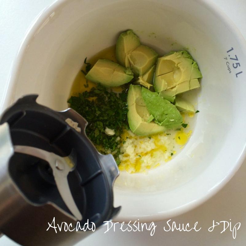 Avocado Dressing Sauce and Dip