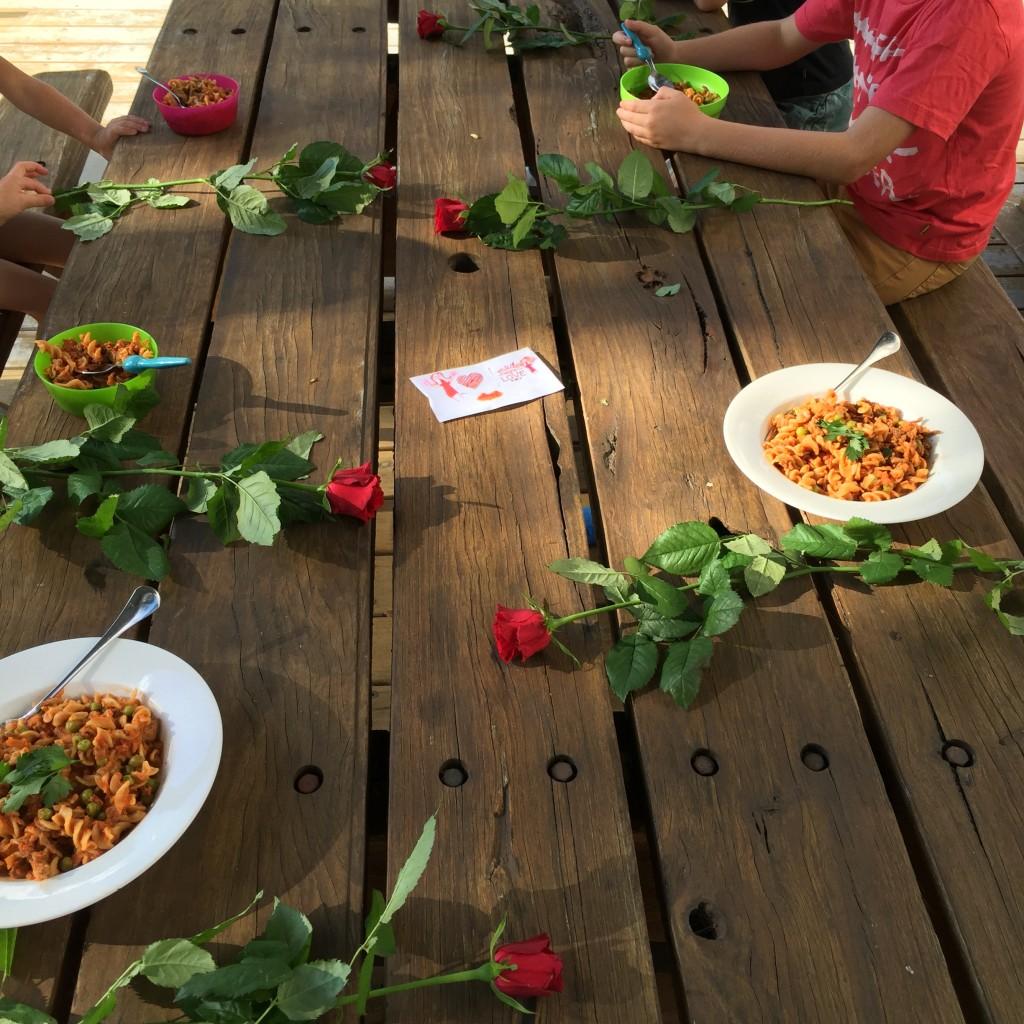Dani Stevens family of 6 rose