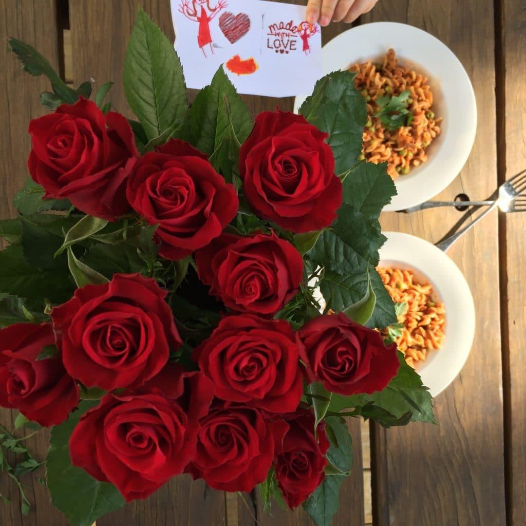 Roses and beef ragout dinner Dani Stevens