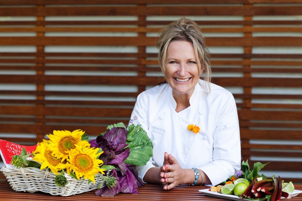 Chef Samantha Gowing {High Res}_Sunflowers