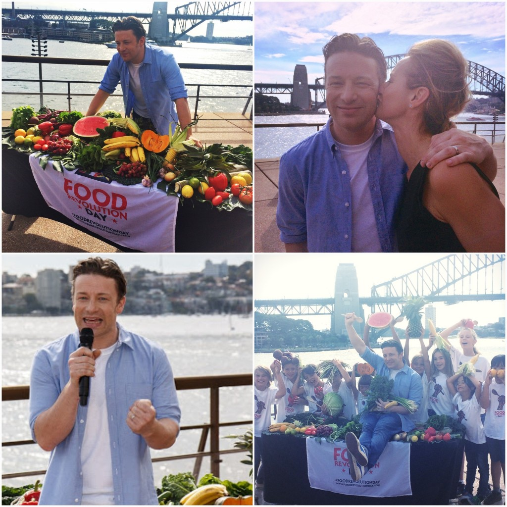 Jamie Oliver Food Revolution Day Dani Stevens Opera House