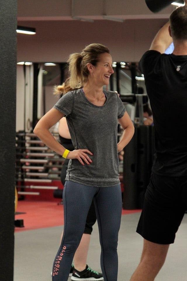 Dani Stevens Fitness First Reebok Freestyle