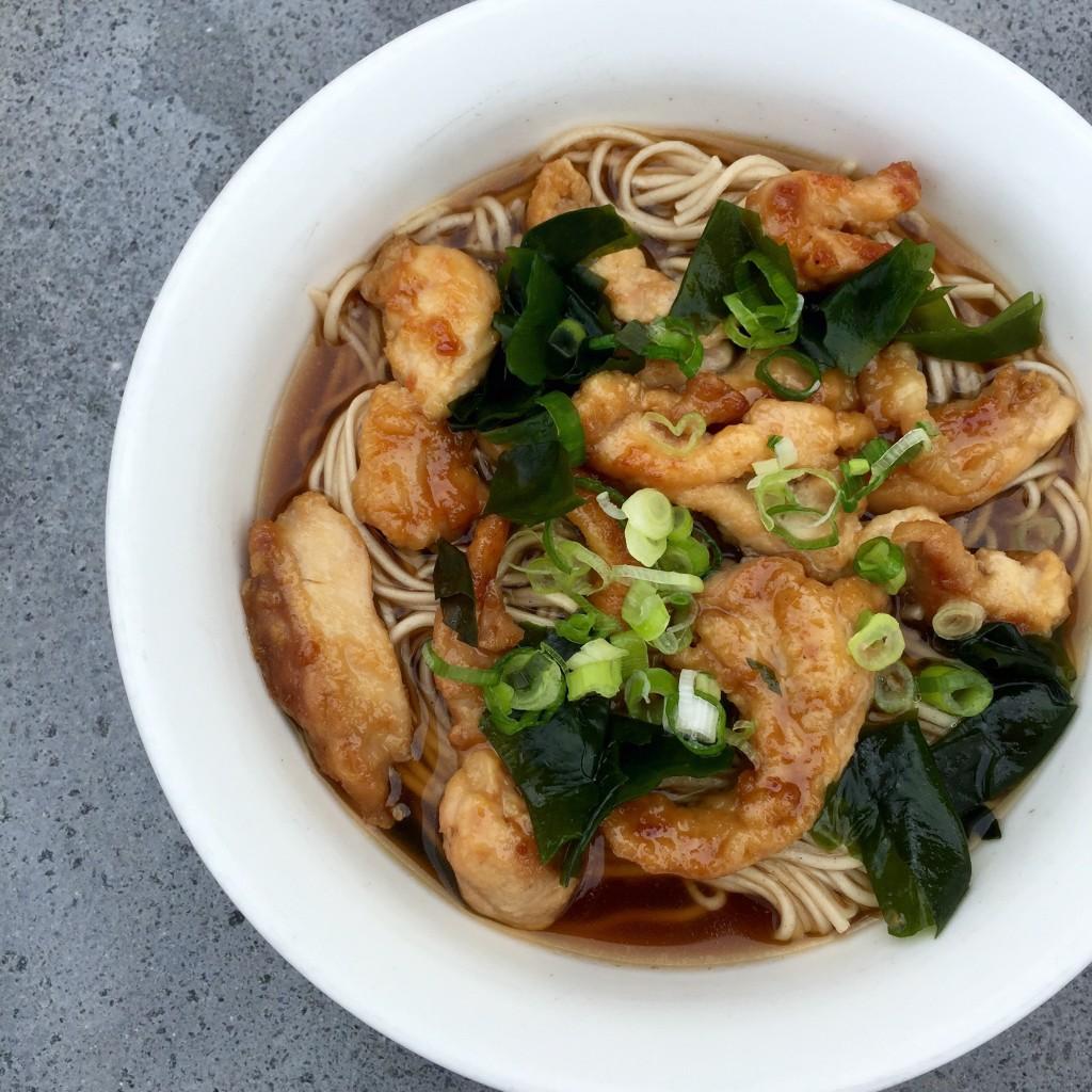 Dani Stevens Japanese Soba Soup