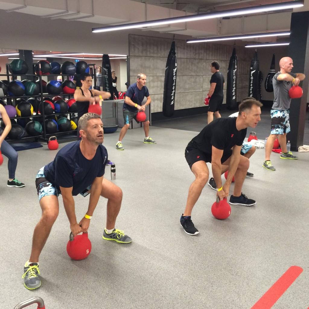 Kettle Bell Fitness First Pete Manuel Dani Stevens