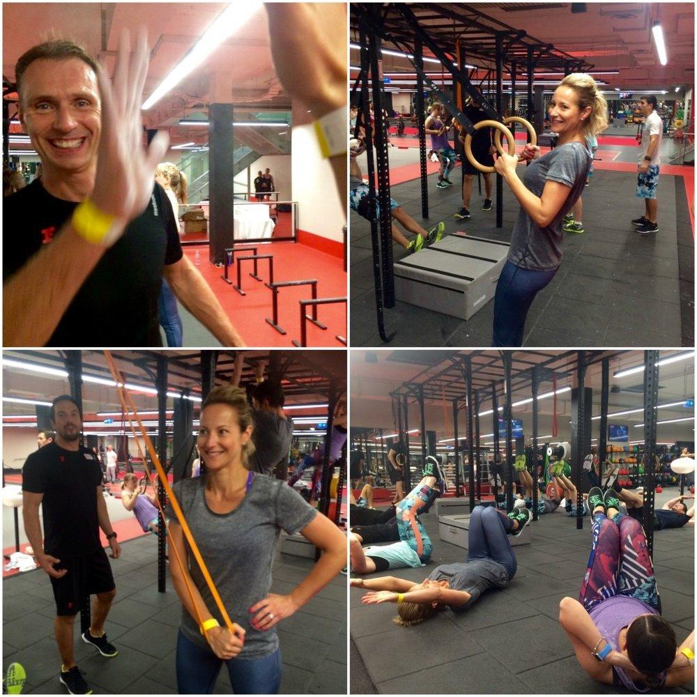 Pete Manuel Fitness First Dani Stevens Reebok