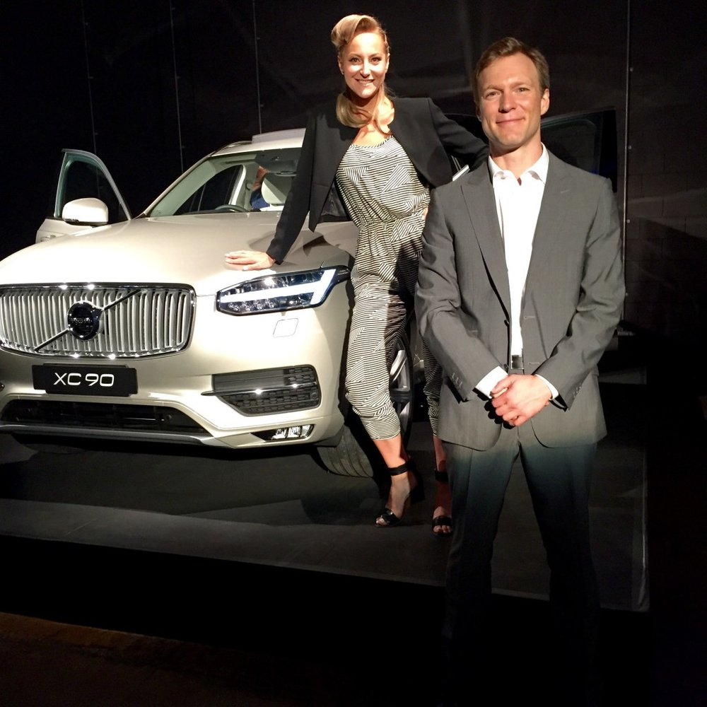 The Volvo CX90 SUV Dani Stevens