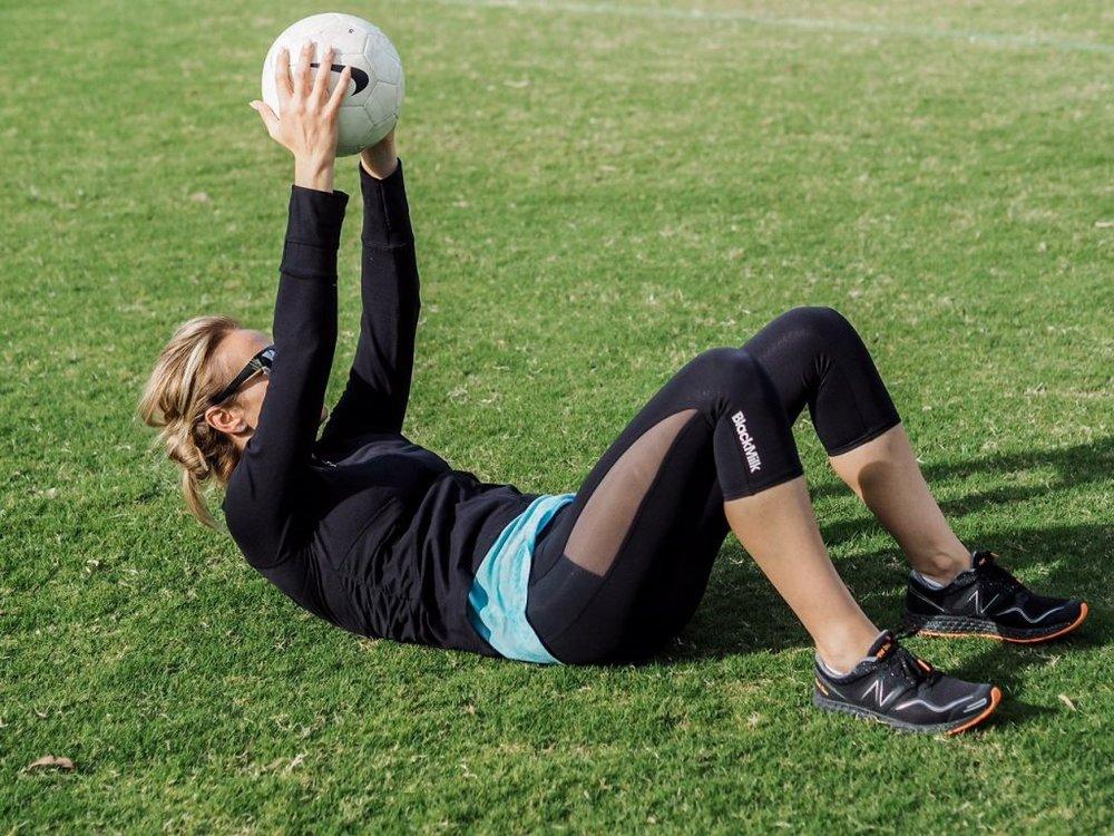 Dani Stevens soccer fitness tips