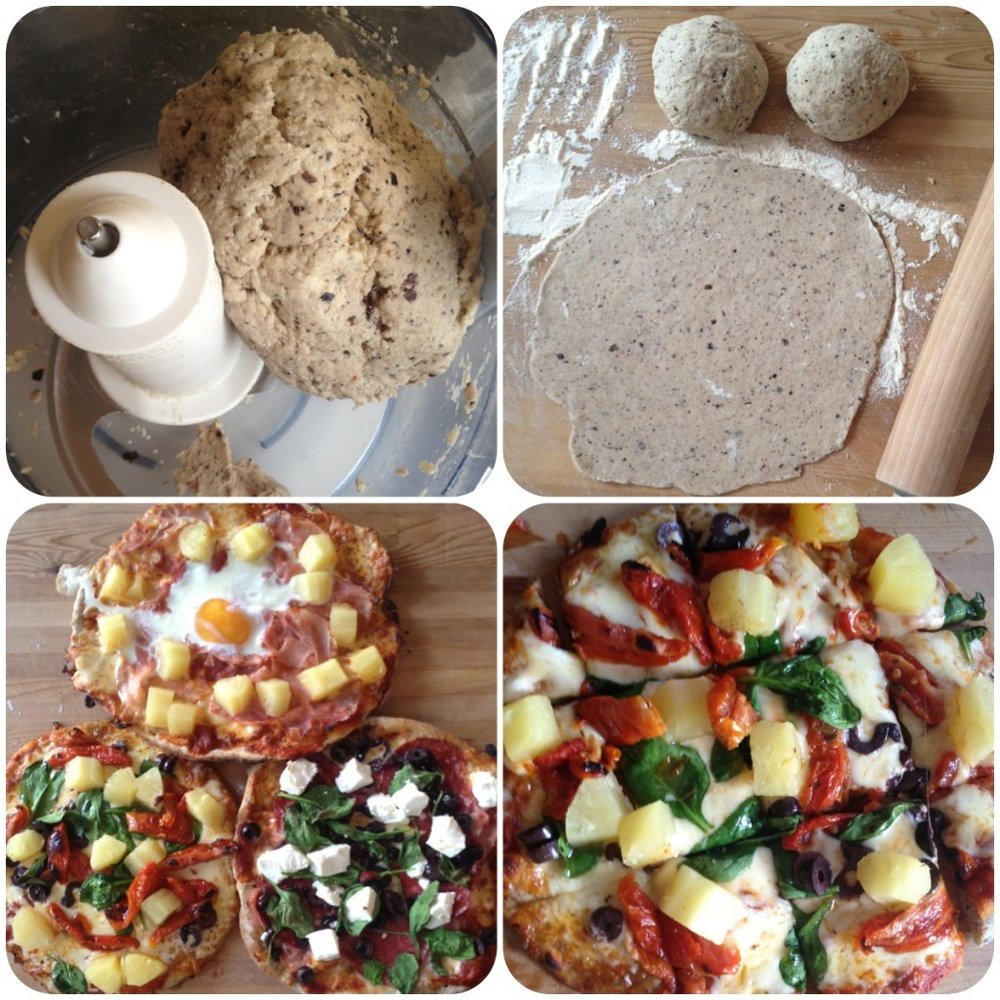 Dani Stevens healthy pizza