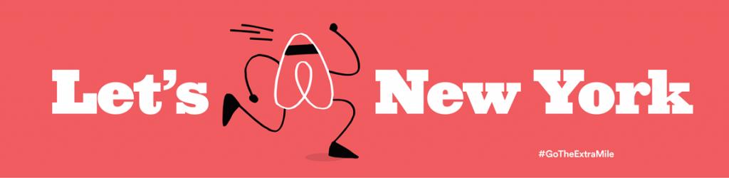 Airbnb New York Marathon competition on Dani Stevens