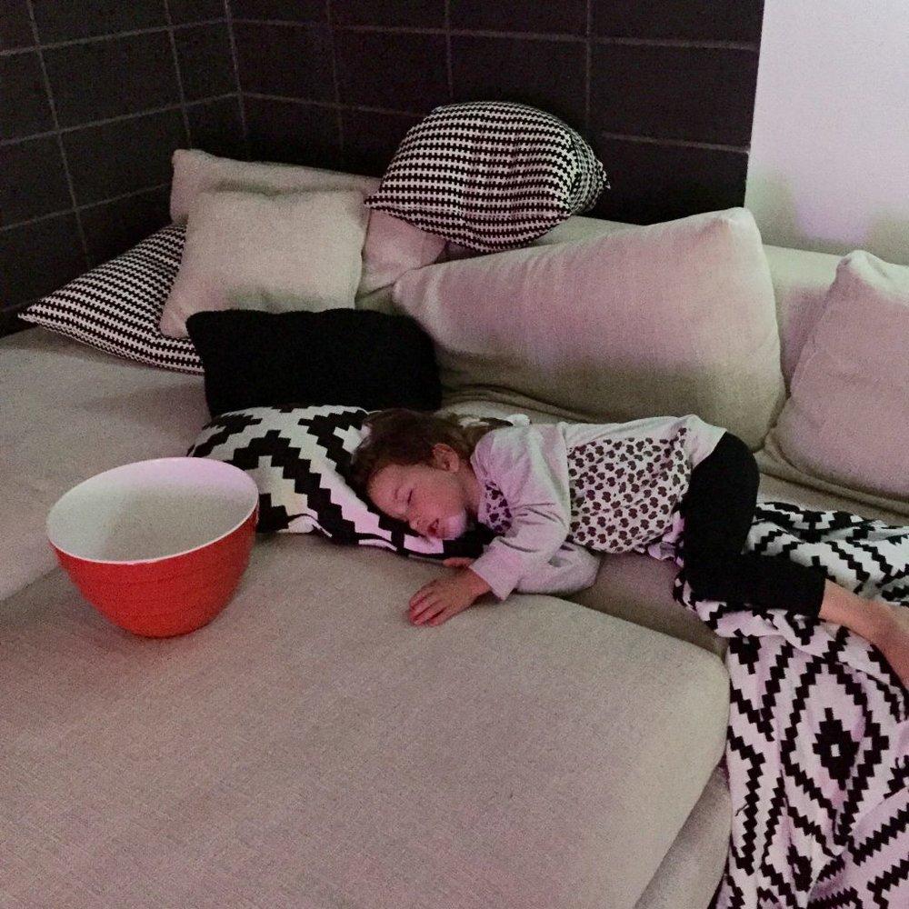 Zali sleep challenge