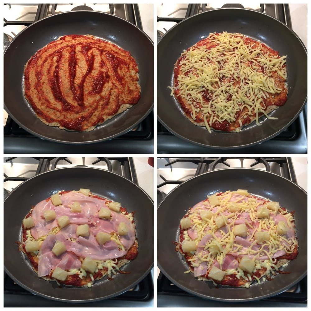 home made pizza steps Dani Stevens
