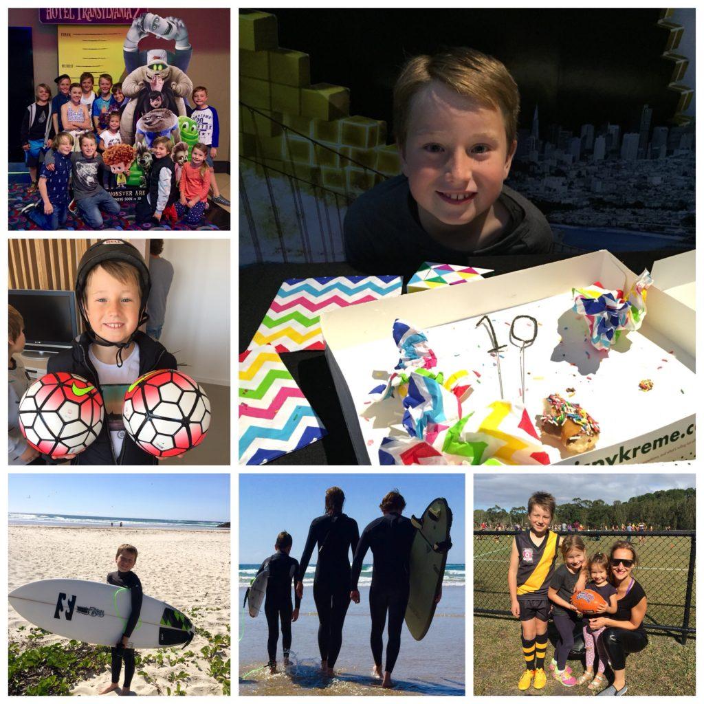 Noah Stevens 10th birthday
