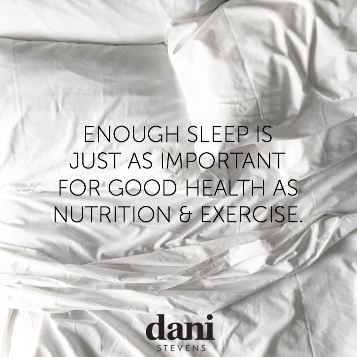 Sleep Challenge Dani Stevens