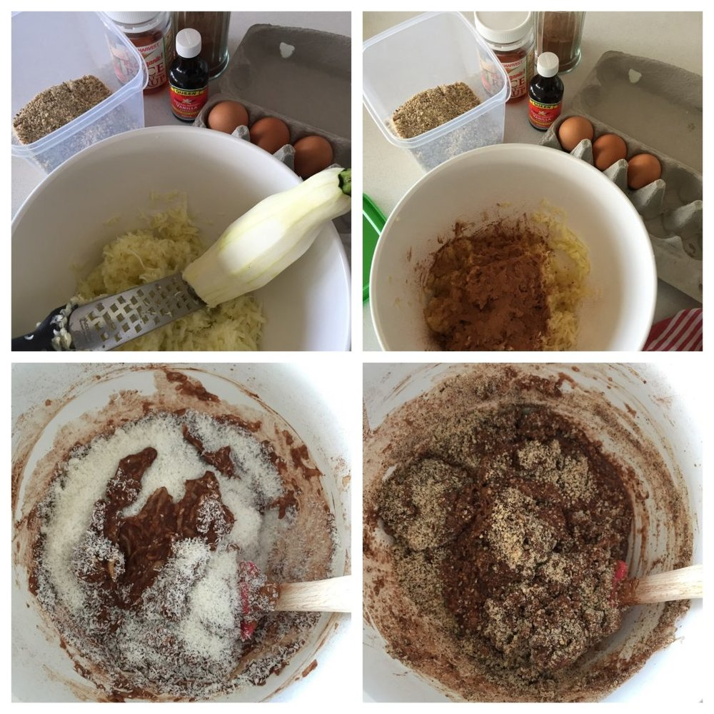 Choc Hazelnut muffins