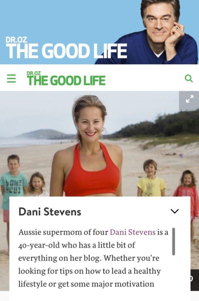 Dr Oz Dani Stevens