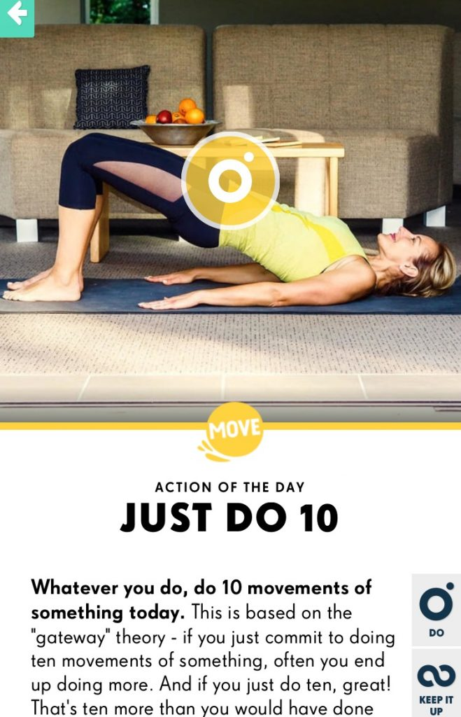 YOU app with Dani Stevens pilates