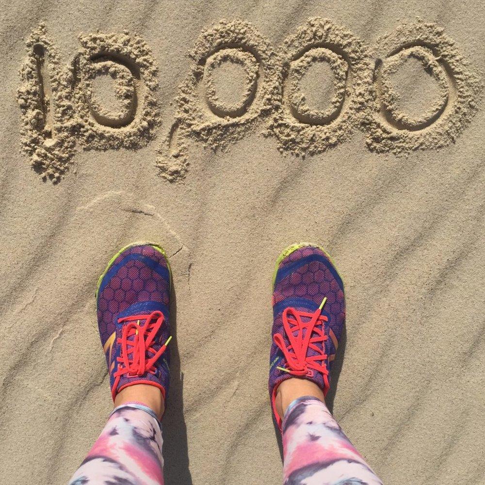 Steptember Dani Stevens 10,000 steps