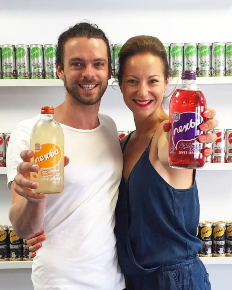 Troy Douglas healthy beverages Dani Stevens fitness food motivator