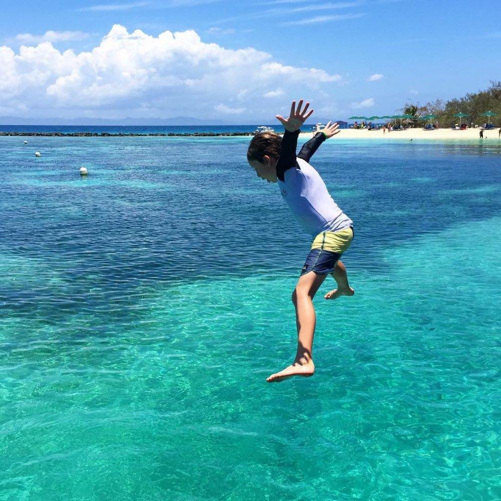 Dani Stevens fitness tips in New Caledonia