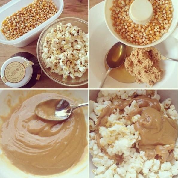no added sugar caramel popcorn dani stevens