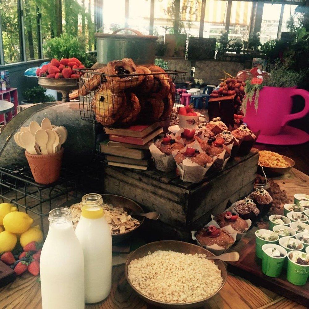 Kellogg's Book Kingdom breakfast