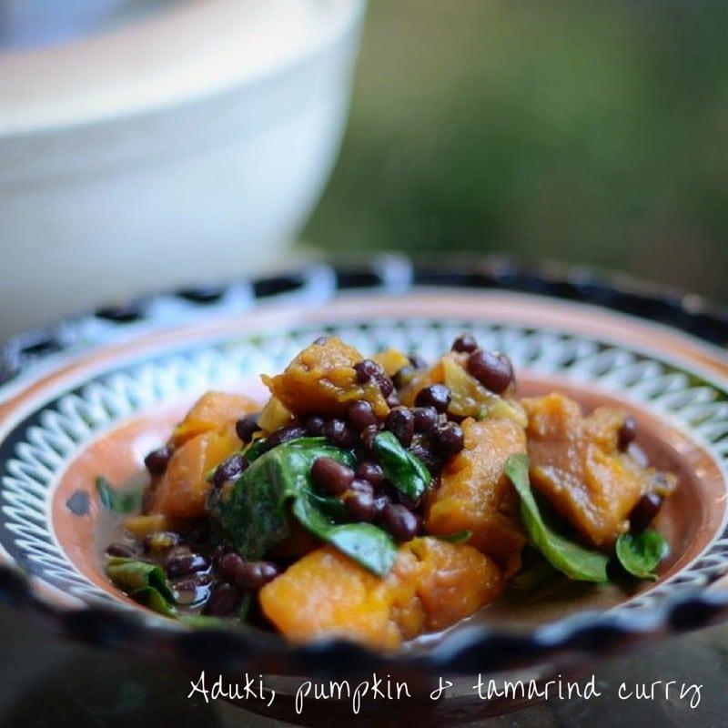 Aduki-pumpkin-tamarind-curry