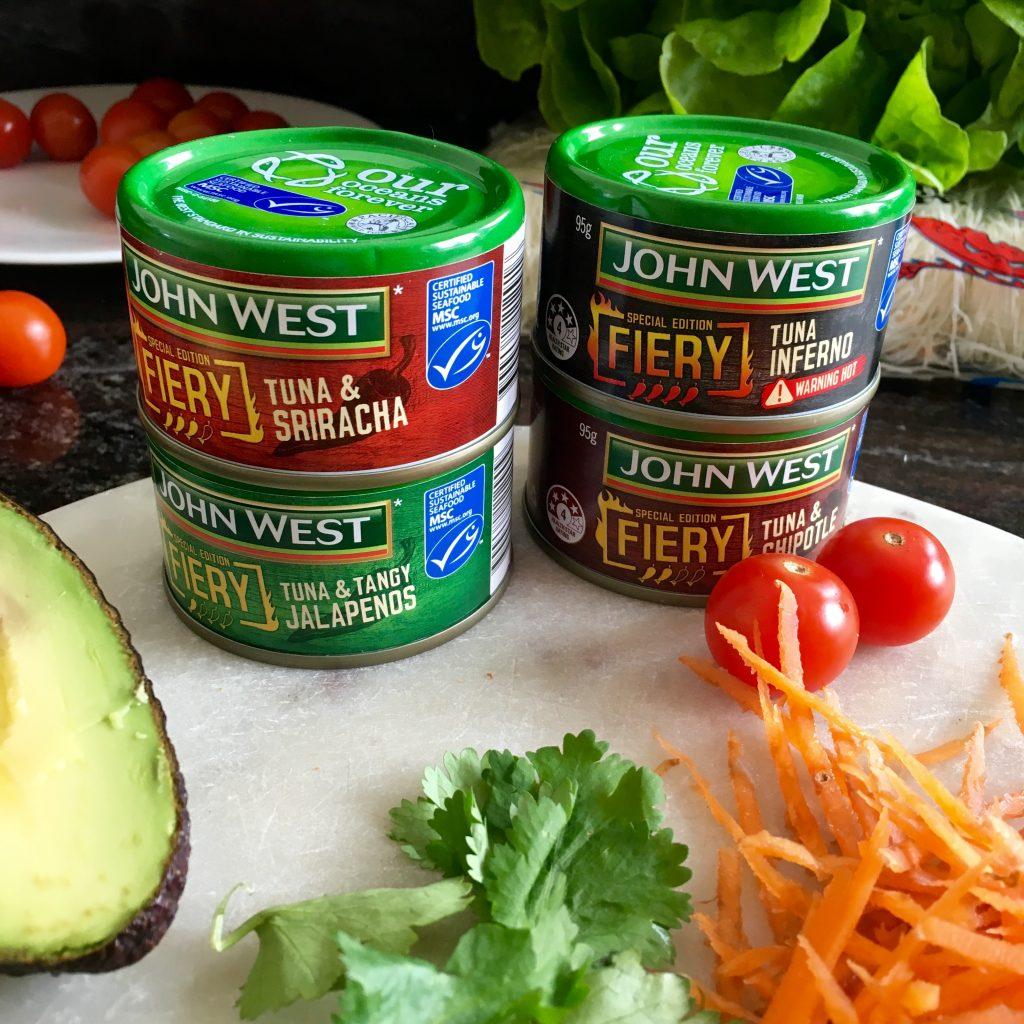 John West FIERY Tuna