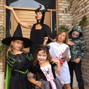 Halloween Maleficent costume