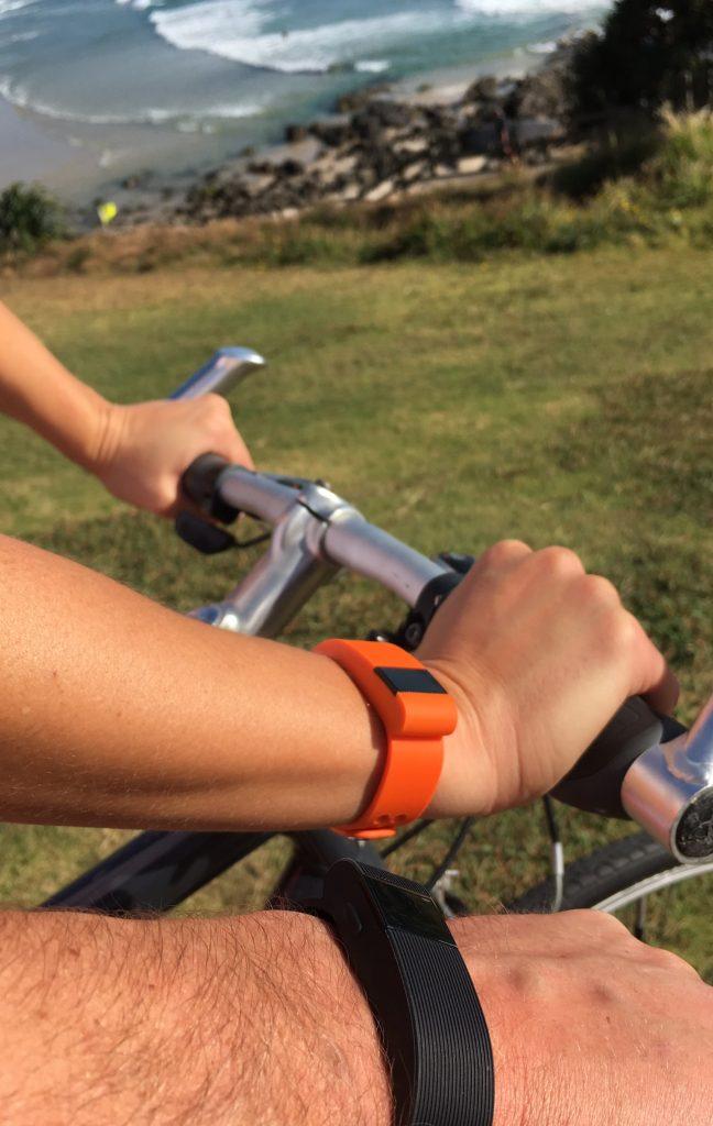 Dani Stevens gotrak bike riding