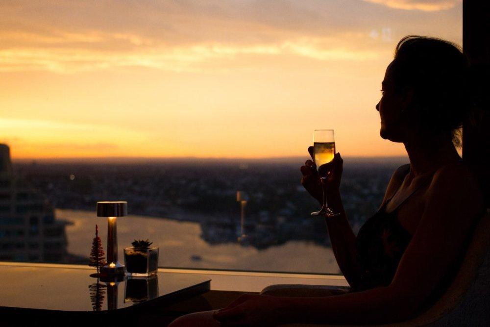 The Horizon Bar Shangri-La Sydney Dani Stevens