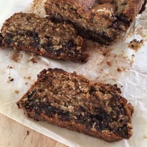 Chocolate Coconut Bread