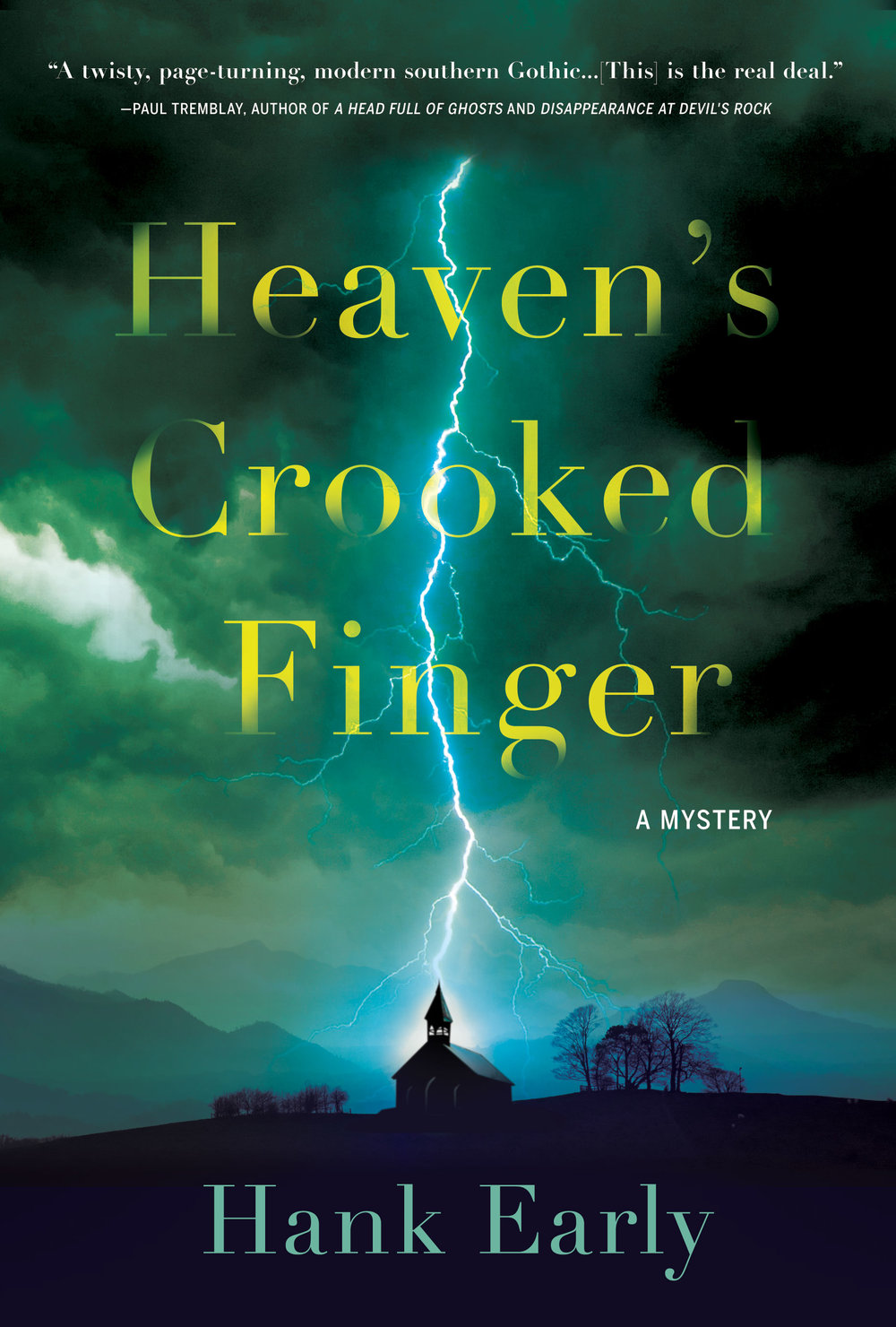 heaven's crooked finger, hank early, mystery, book