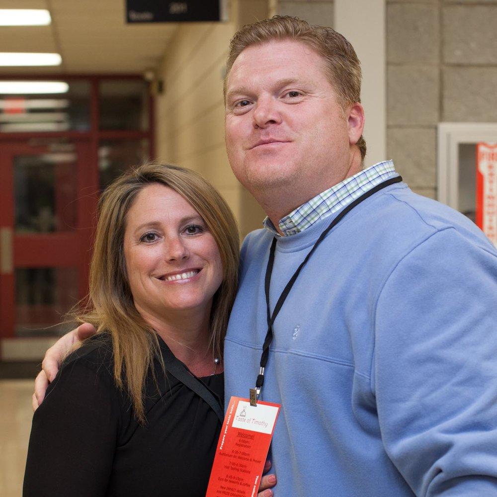 Mr. Matt Davidson & his wife Julie
