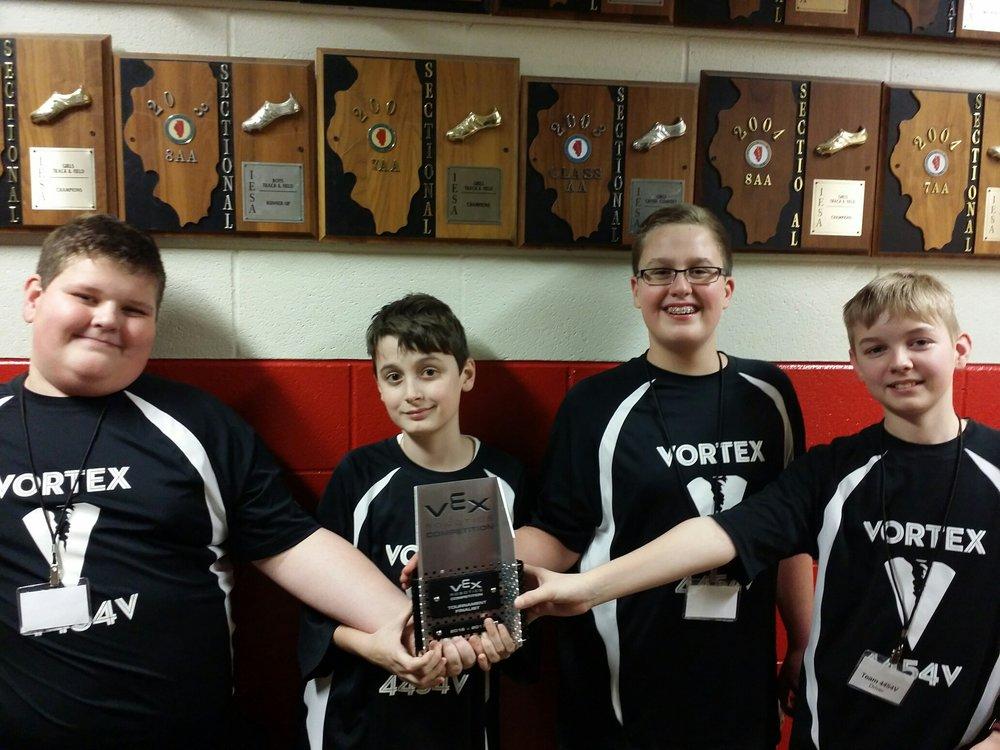 MS Robotics Team - Vortex - 2nd in State!
