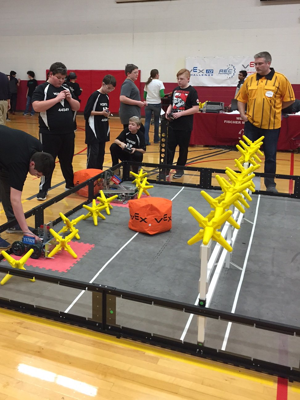 Middle School Vex Robotics Takes Second At State Timothy Christian