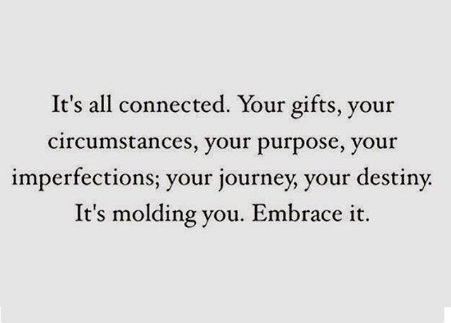 When things get tough remember this. Embrace it. ❤️