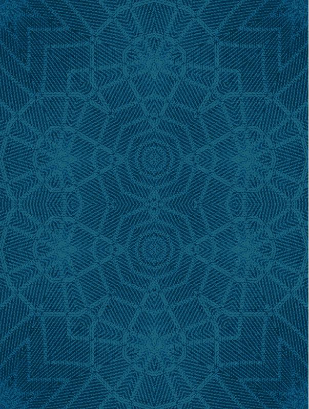 ikat 01 turquoise