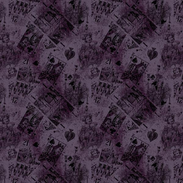 cards aubergine