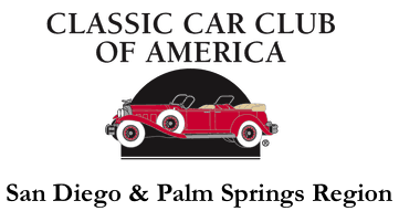 Classic Car Club of America - San Diego/ Palm Springs Region