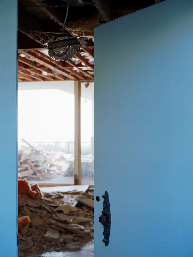 Untitled #1 (Rebuilding), 2005 / archival pigment print, 30 x 22.5 inches, edition of 5 plus 2 AP