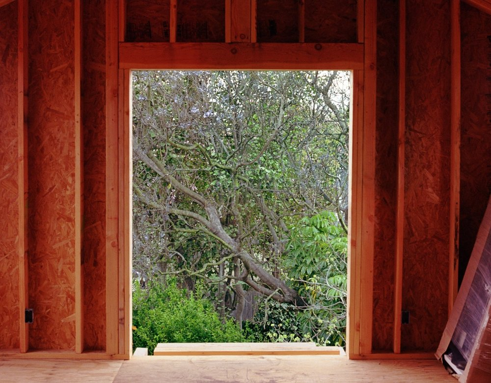 EP House  (Rebuilding), 2002 / archival pigment print, 30 x 40 inches, edition of 5 plus 2 AP