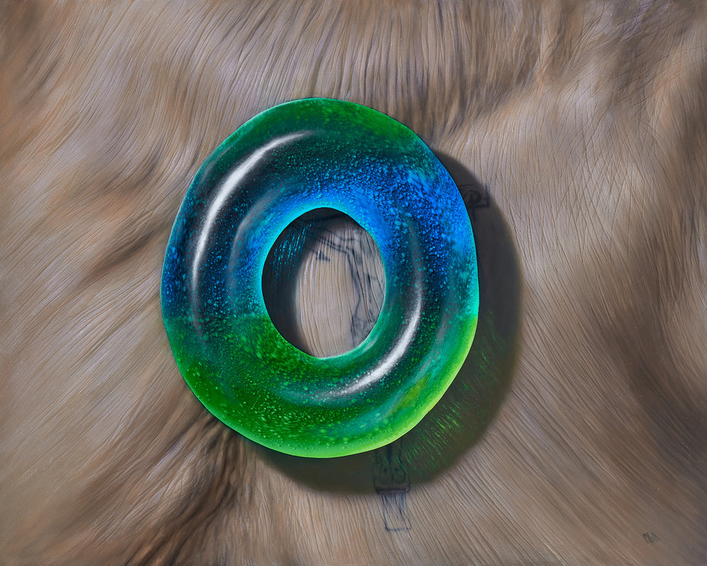 Blue Green Ring