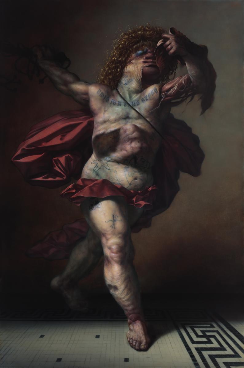 Mortuum Ambulatnem Romanus (After Goltzius)
