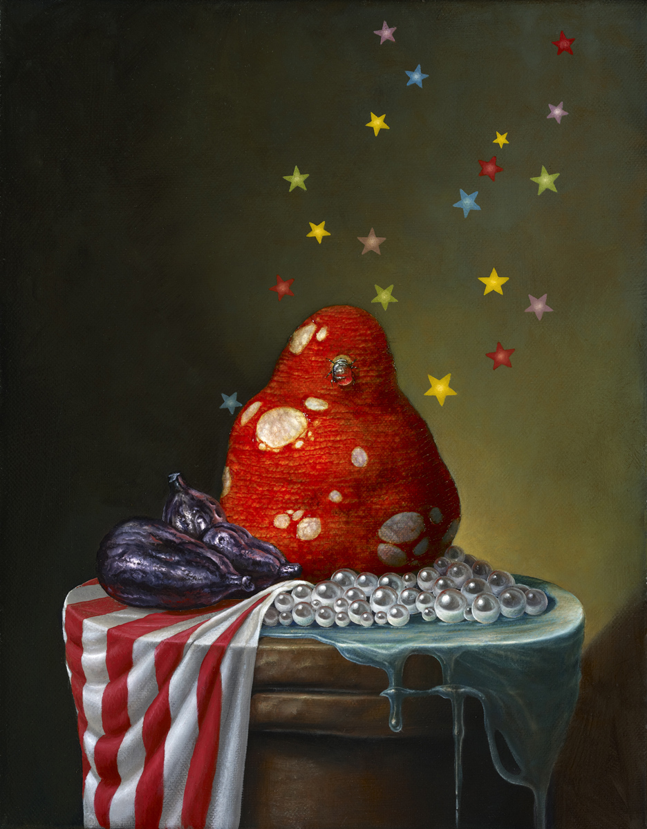 Pear with Stars