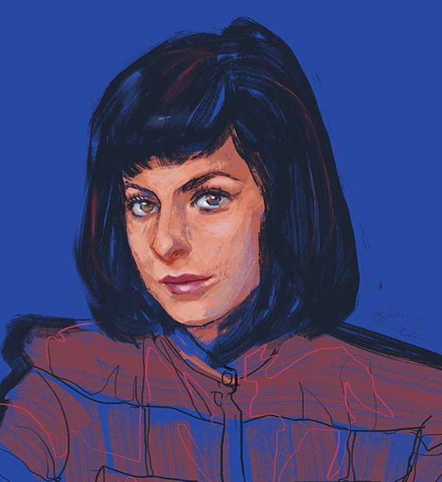 Portrait of @sophiaamoruso from some time ago. I was so pumped after reading the book Girlboss for the first time 💪💋 Hope Sophia writes another one explaining what really happened with Nasty Gal... 🤞 #sophiaamoruso #nastygal #girlboss #painting #art #artist #digitalart #digitalpainting #instaart #instaartist #artistsoninstagram #dailysketch #artdaily #entrepreneur #businesswoman