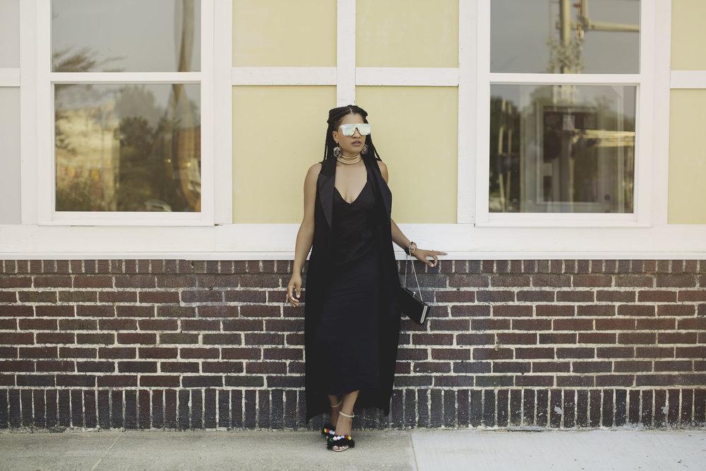 black dress and longline tuxedo vest10.jpg