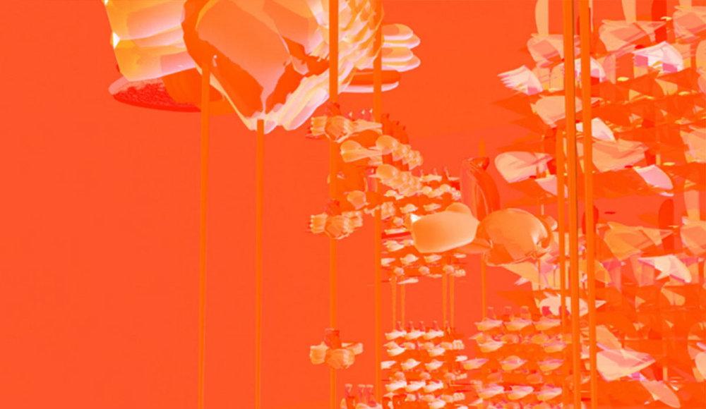 Violence of Spring; 3D Blender