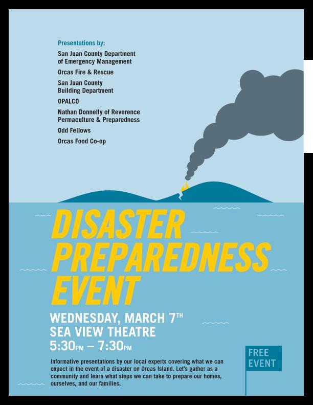 Disaster Preparedness Event 3/7/18