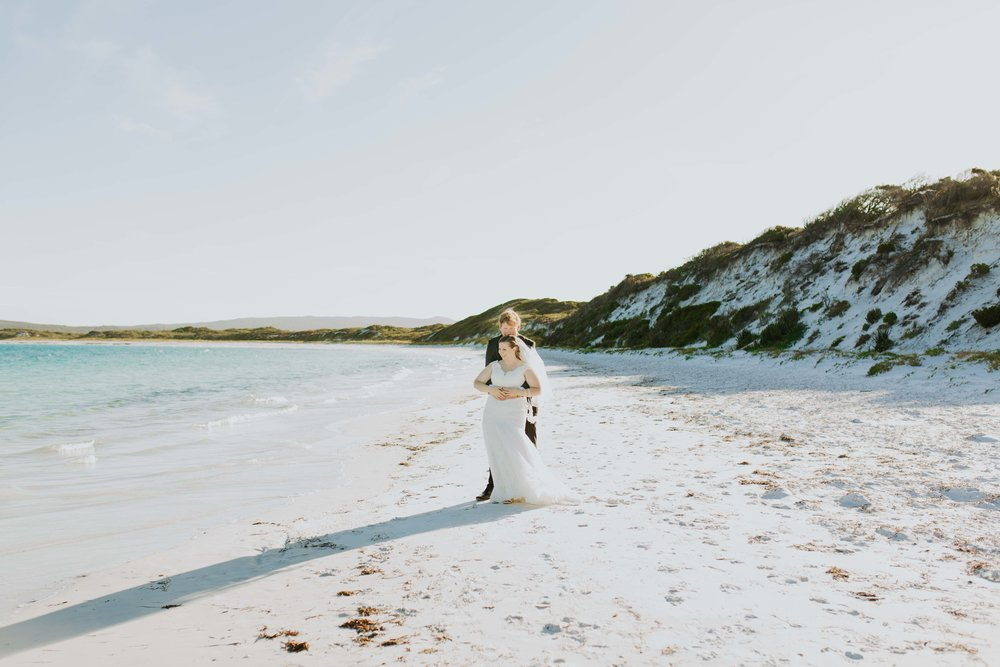 wedding photography portrait session Good Beach Albany